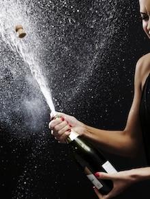 giocatore vip champagne