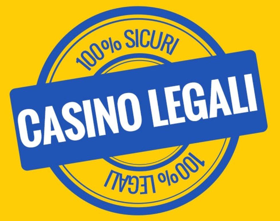 il logo di casino legali