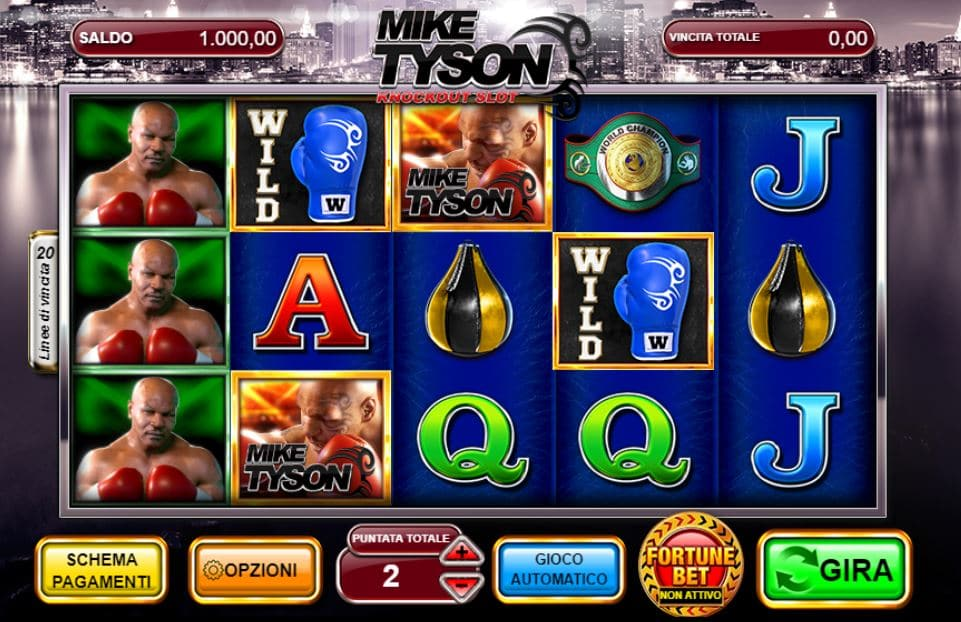 Slot Machine Tyson