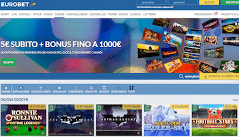 home page eurobet