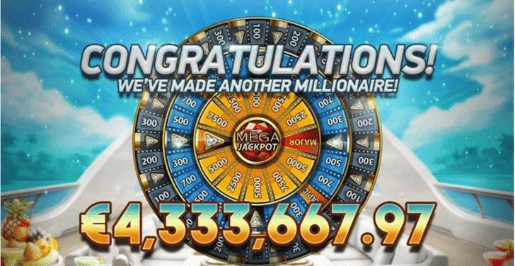 slot netent mega fortune dreams vincita