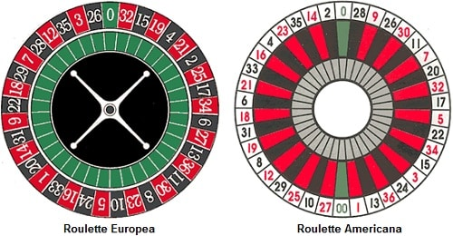 roulette europea e roulette americana confronto