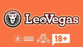 Il logo di leovegas