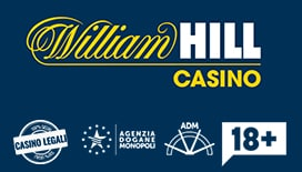 Il logo di William Hill